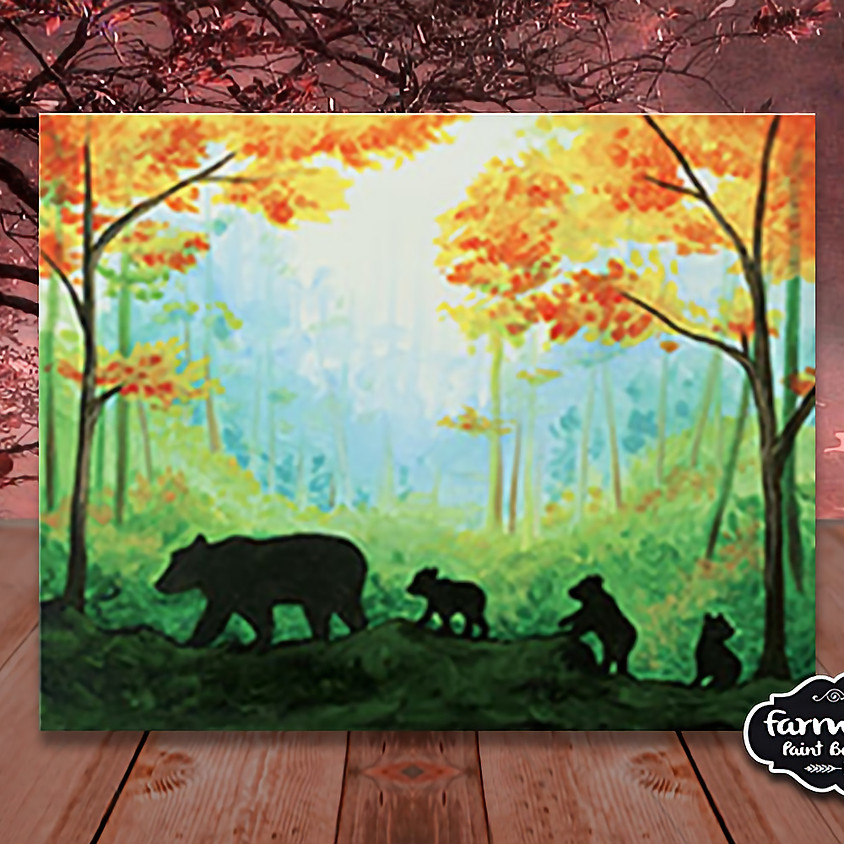 Mamma Bear - Step by Step Painting Class