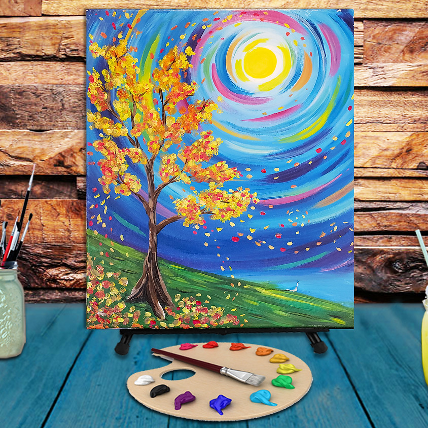 Colors of Fall -  Step by Step Painting Class