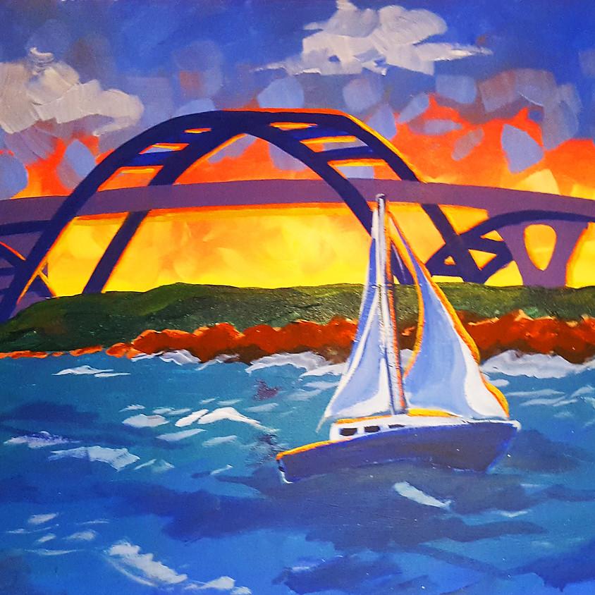 Hoan Bridge - Step by Step Plein Air Painting Class (1)