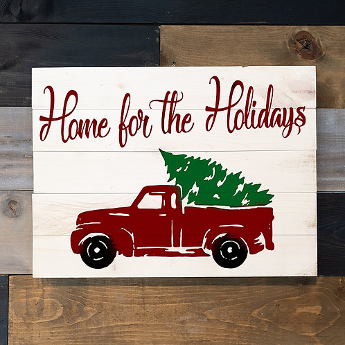 Home for the Holidays - Woodsign Making Experience