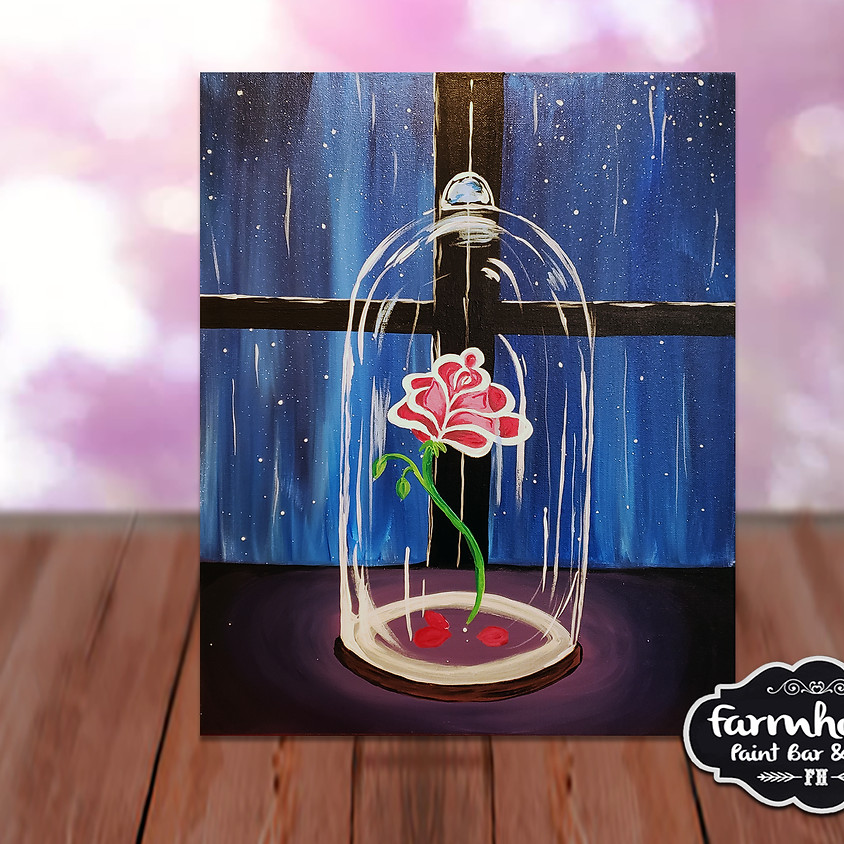 Enchanted Rose - Step by Step Plein Air Painting Class