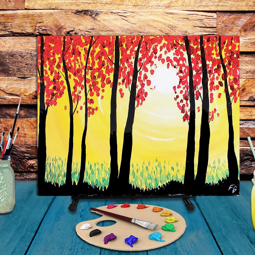 Autumn Sun - Step by Step Plein Air Painting Class