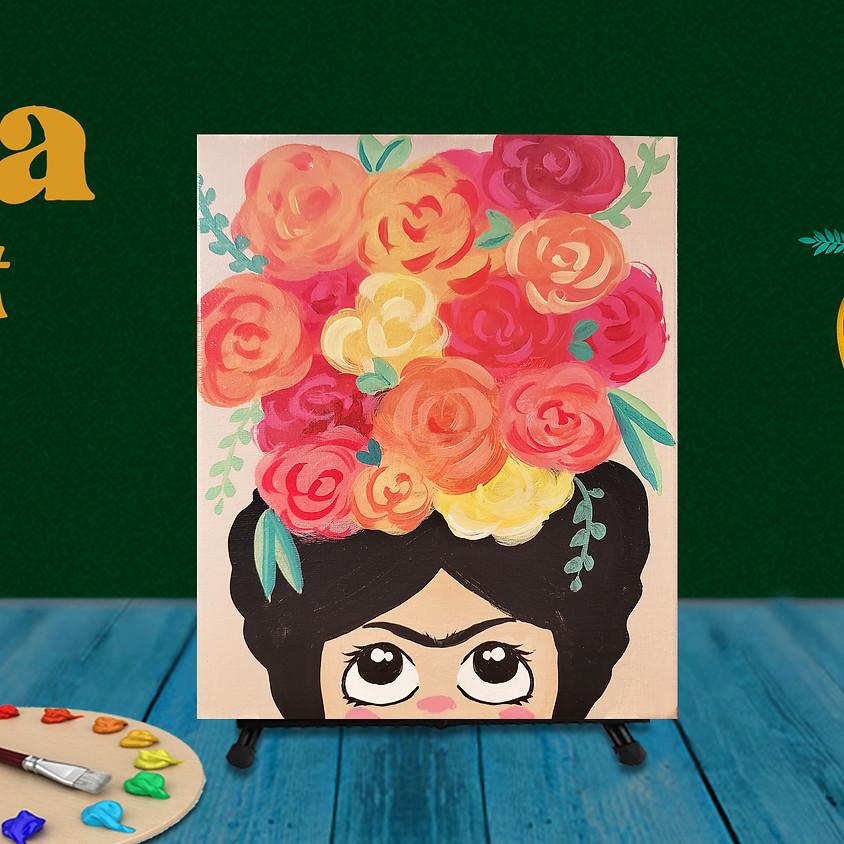 "Frida Fest Painting Class ""Little Frida"""