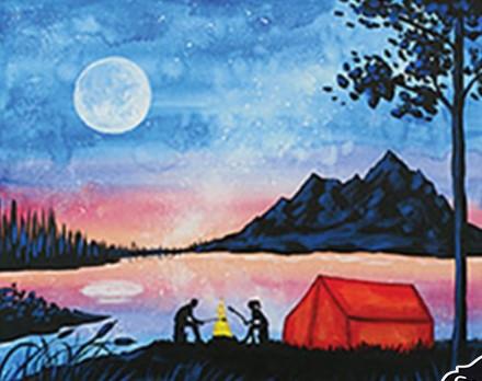 Camp at the lake