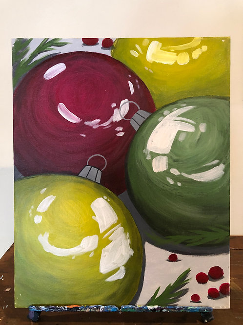 Ornaments (16x20 canvas)