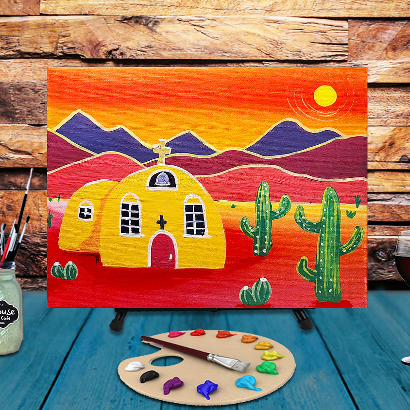 """Frida Friday """"Serenity"""" Step by Step Painting"""
