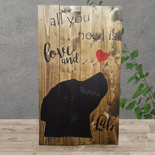 All you Need is Love and a Lab - Woodsign Making Experience