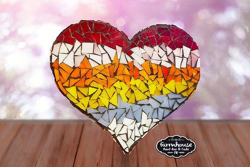 Heart Mosaic Making Kit