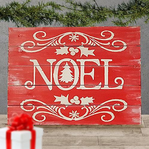 Noel - Woodsign Making Experience