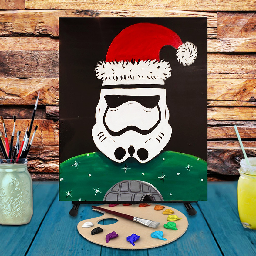 Christmas Trooper -  Step by Step Painting Class