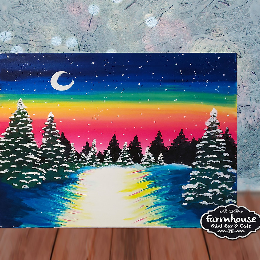Snow Forest - Step by Step Painting Class