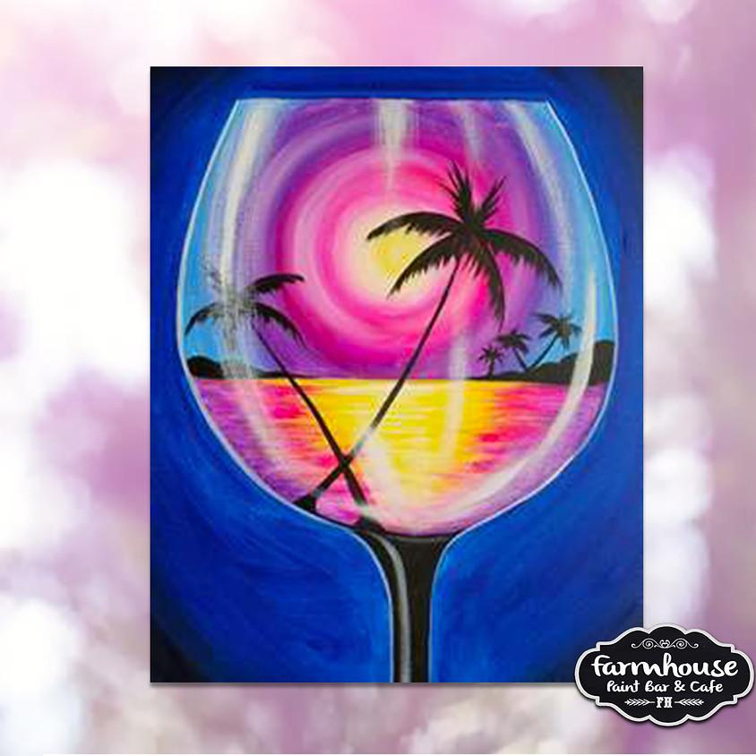Summer Glass - Virtual Painting Class