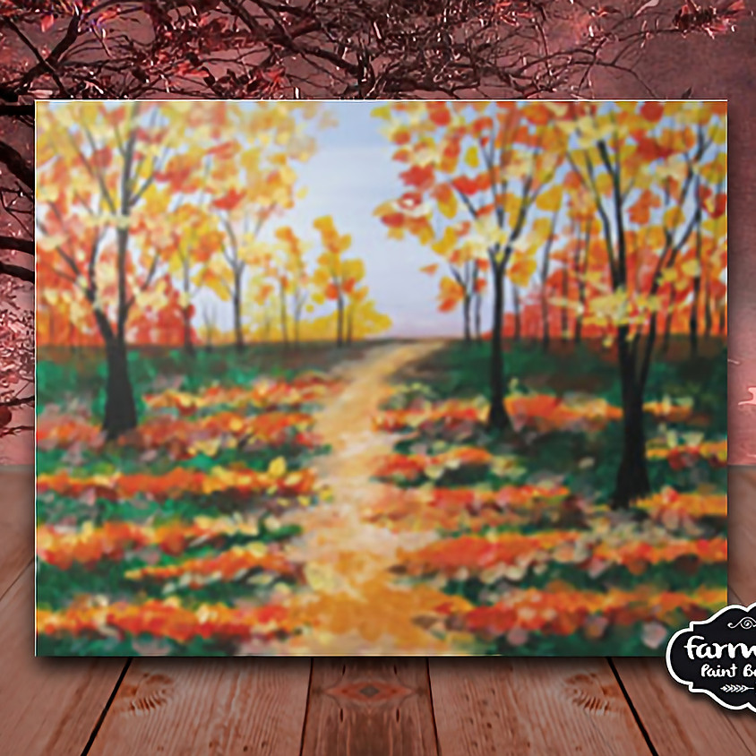 Fall Path - Step by Step Painting Class