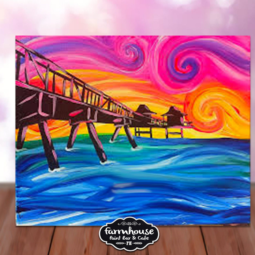 Ocean Bridge - Step by Step Plein Air Painting Class