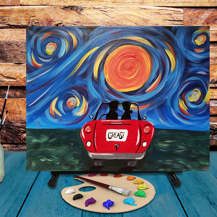 Summer Lovin - Step by Step Painting Class