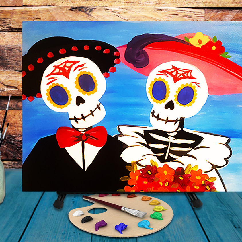 Day of the Dead - Virtual Step by Step Painting Class