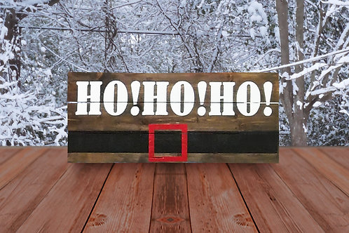 Ho!Ho!Ho! - Woodsign Making Experience