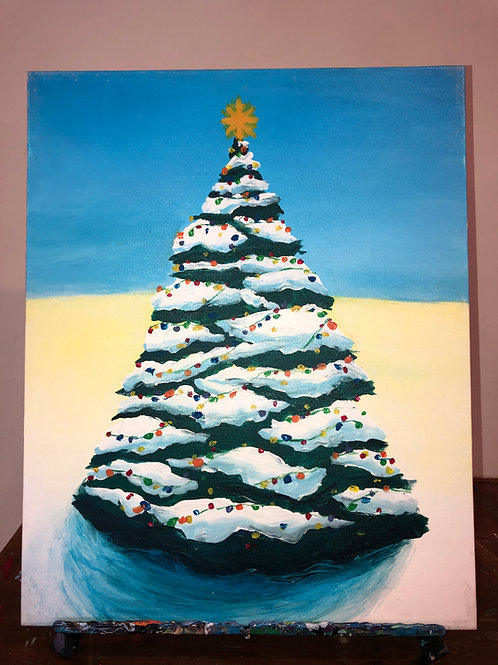 Christmas Tree (16x20 canvas)