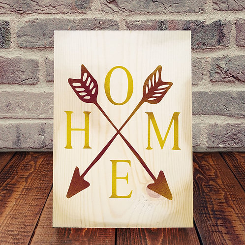 Home (arrows) Wood Experience