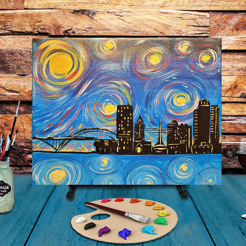 Milwaukee -  Step by Step Painting Class