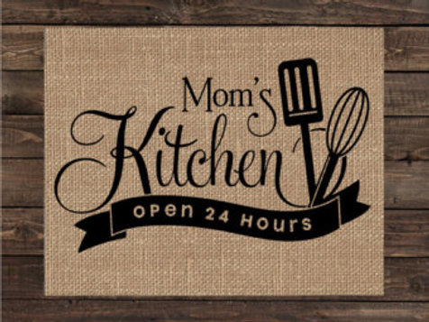 Kitchen Utensils Custom - Wood Sign Experience