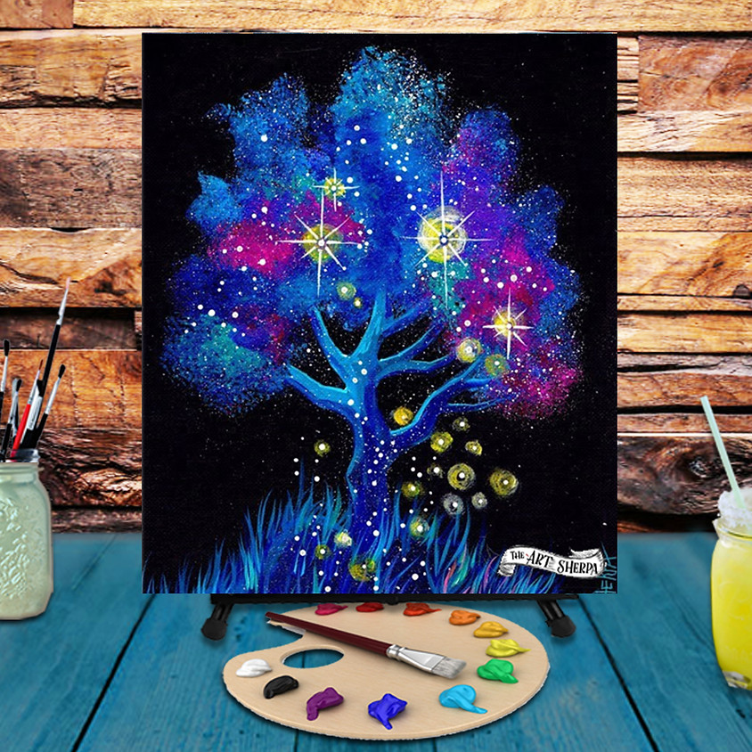 Magic Tree -  Step by Step Painting Class