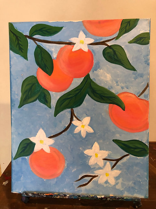 Oranges (16x20 canvas)