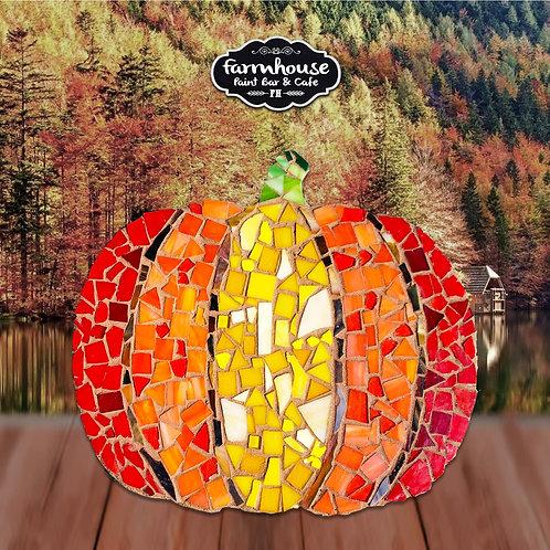 Pumpkin Mosaic Making Kit