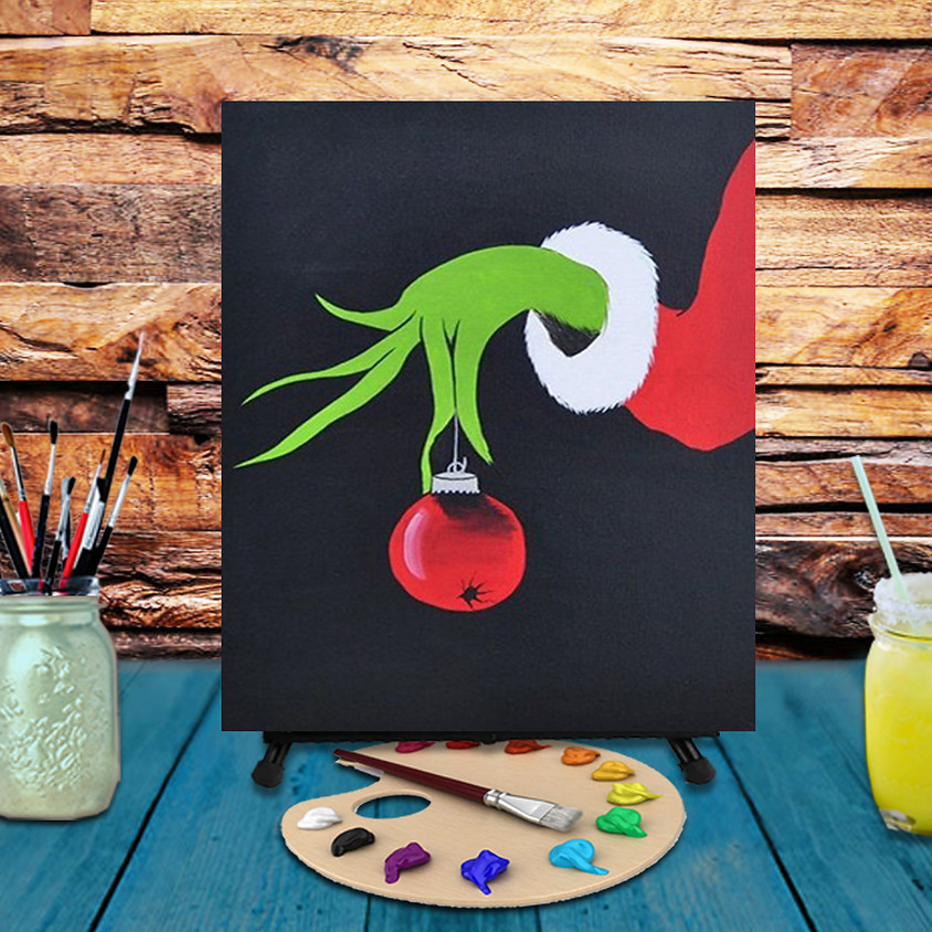 Stealing Christmas -  Step by Step Painting Class