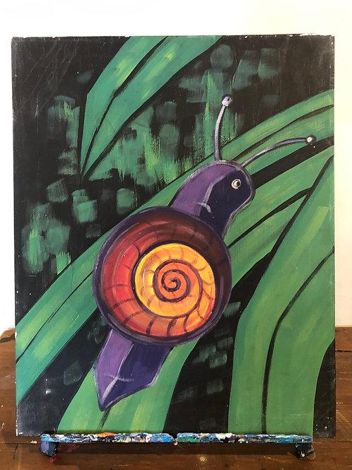 Snail (16x20 canvas)