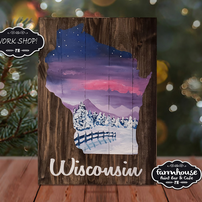 Wisconsin Winter - Virtual Step by Step Painting Class