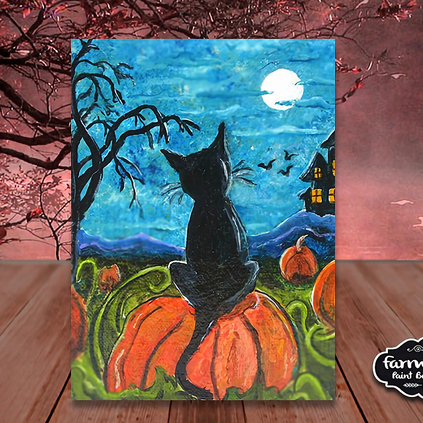 Halloween - Step by Step Class