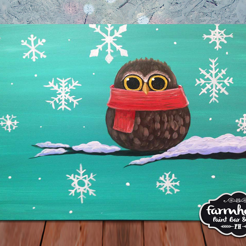 Cozy Owl - Step by Step Painting Class