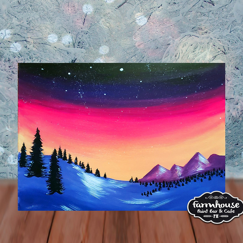 To The Mountains - Step by Step Painting Class
