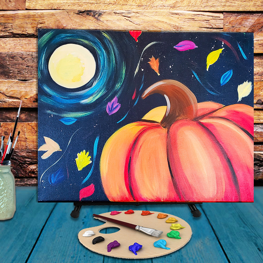 Fall Winds - Virtual Step by Step Painting Class