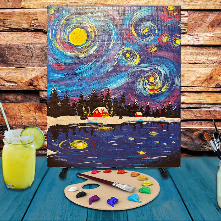 Up North -  Step by Step Painting Class