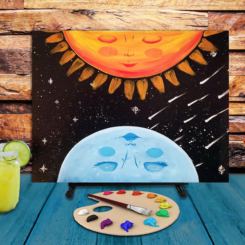 My Sun & My Moon - Step by Step Plein Air Painting Class