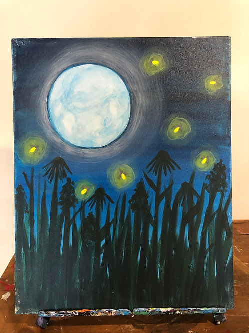 Fireflies (16x20 canvas)