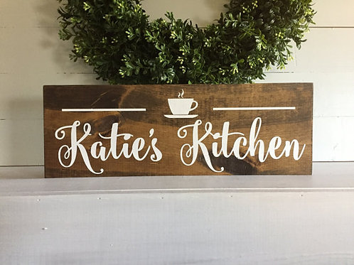 Custom Kitchen Coffee Cup - Woodsign Making Experience