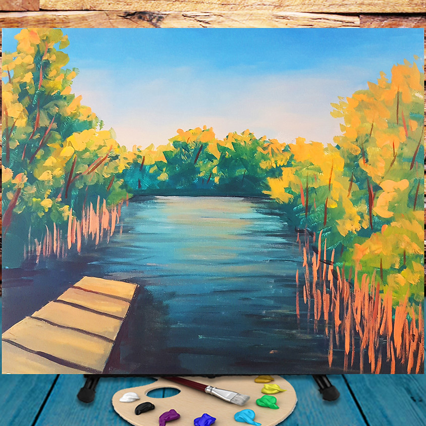 Humboldt Park -  Step by Step Painting Class