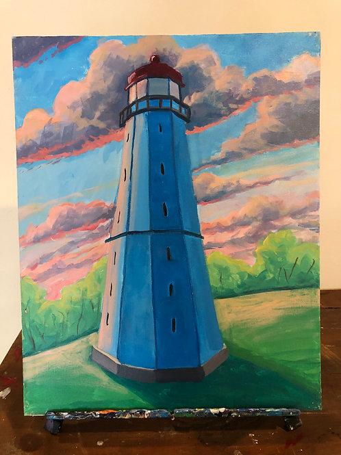 Lighthouse (16x20 canvas)