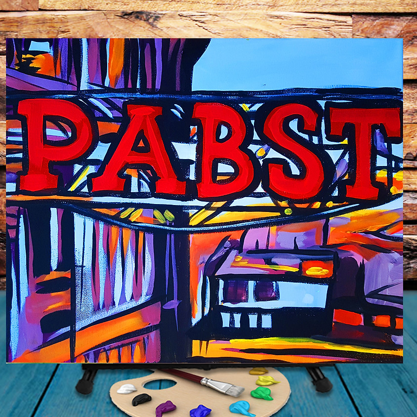 Pabst - Virtual Step by Step Painting Class