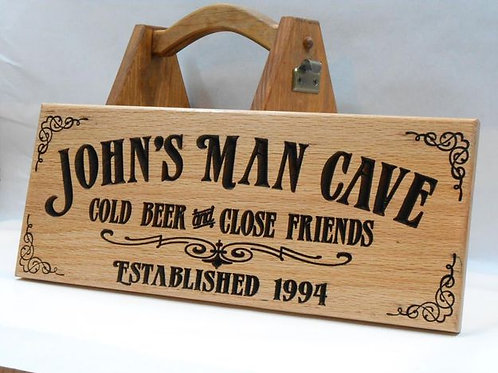 Man Cave Custom - Wood Sign Making Experience