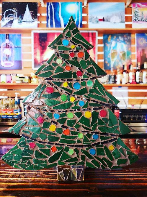 Christmas Tree Mosaic Making Kit