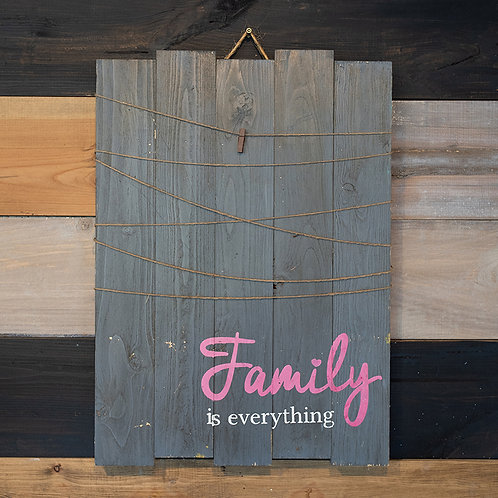 Family Picture Board - Wood Sign Experience