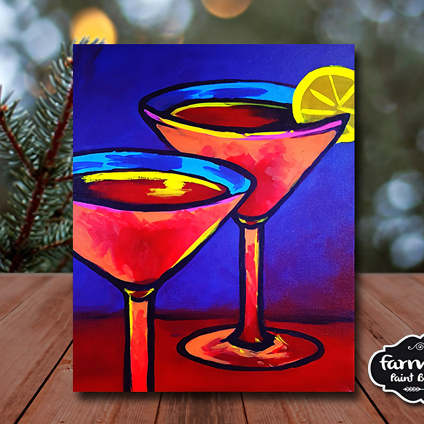 Margarita Day! - Virtual Painting Class