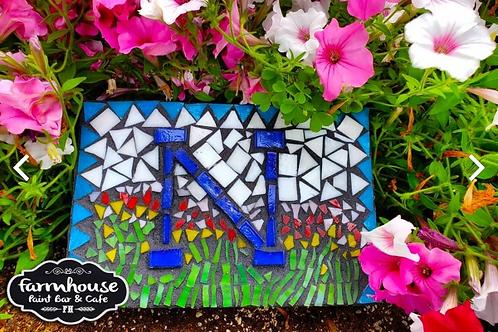 Regular Garden Stone Mosaic (5.5 x 2.5)