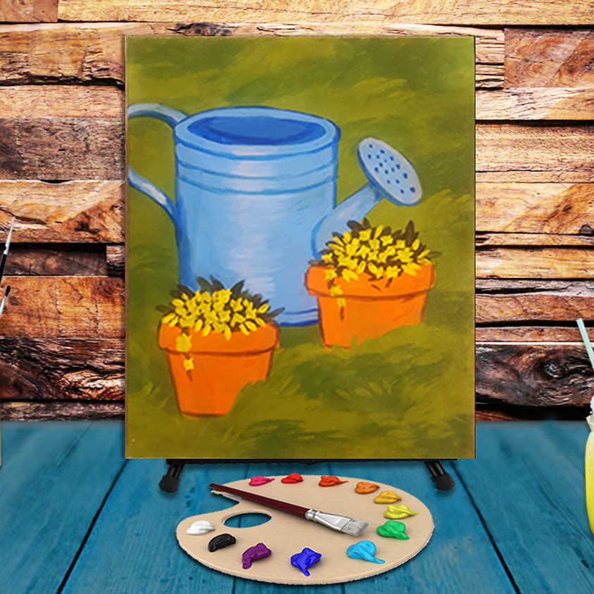 Spring Time - Virtual Step by Step Painting Class