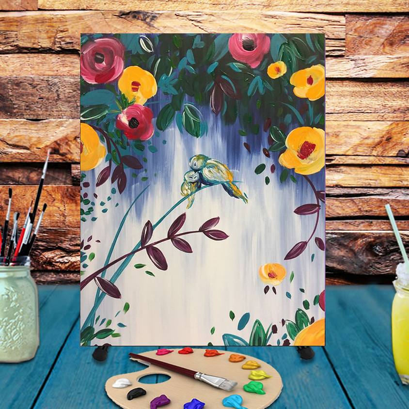 A Mother's Love - Virtual Step by Step Painting Class