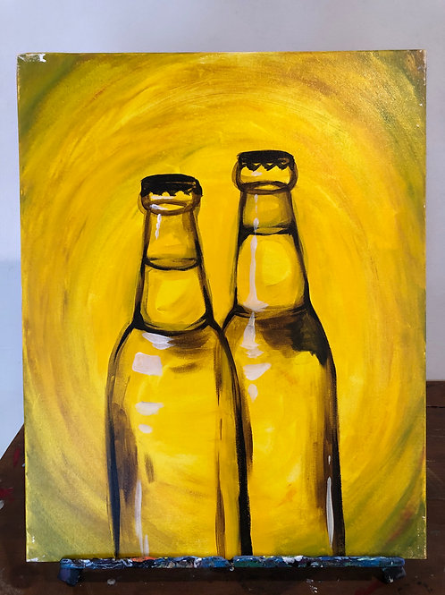 Beer Glass (16x20 canvas)